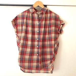 Madewell | Central Popover Shirt in Plaid